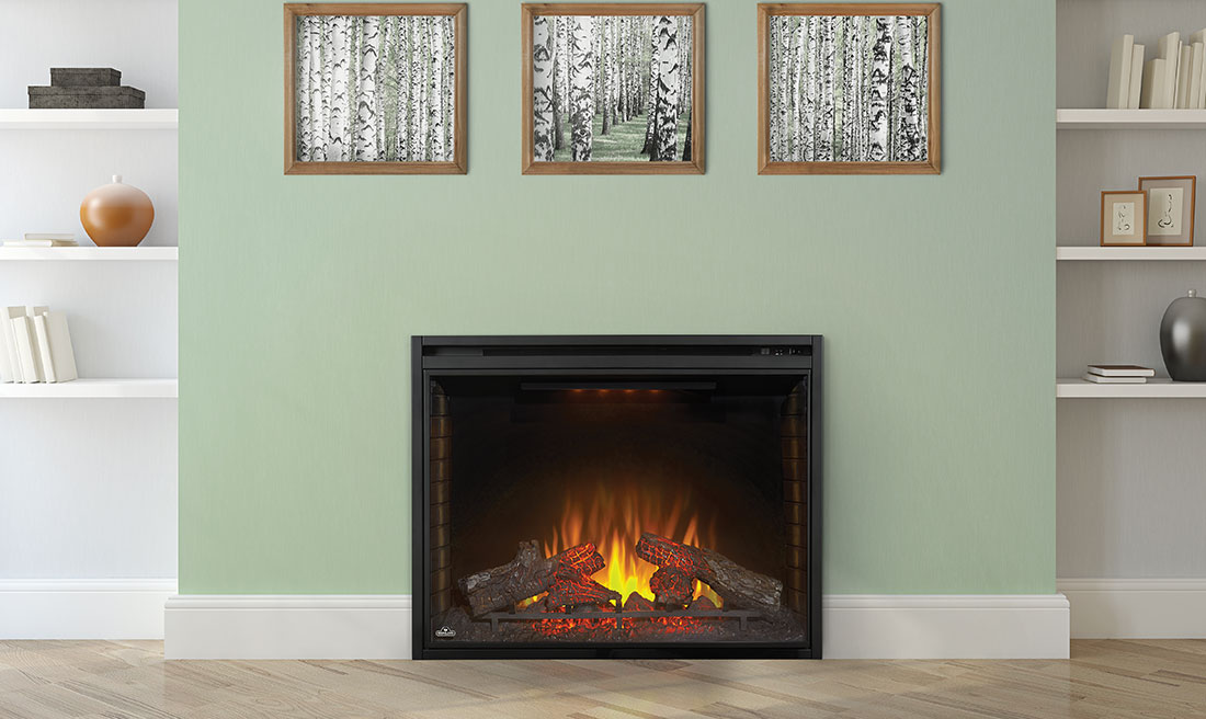 Napoleon BEF40H straight fireplace