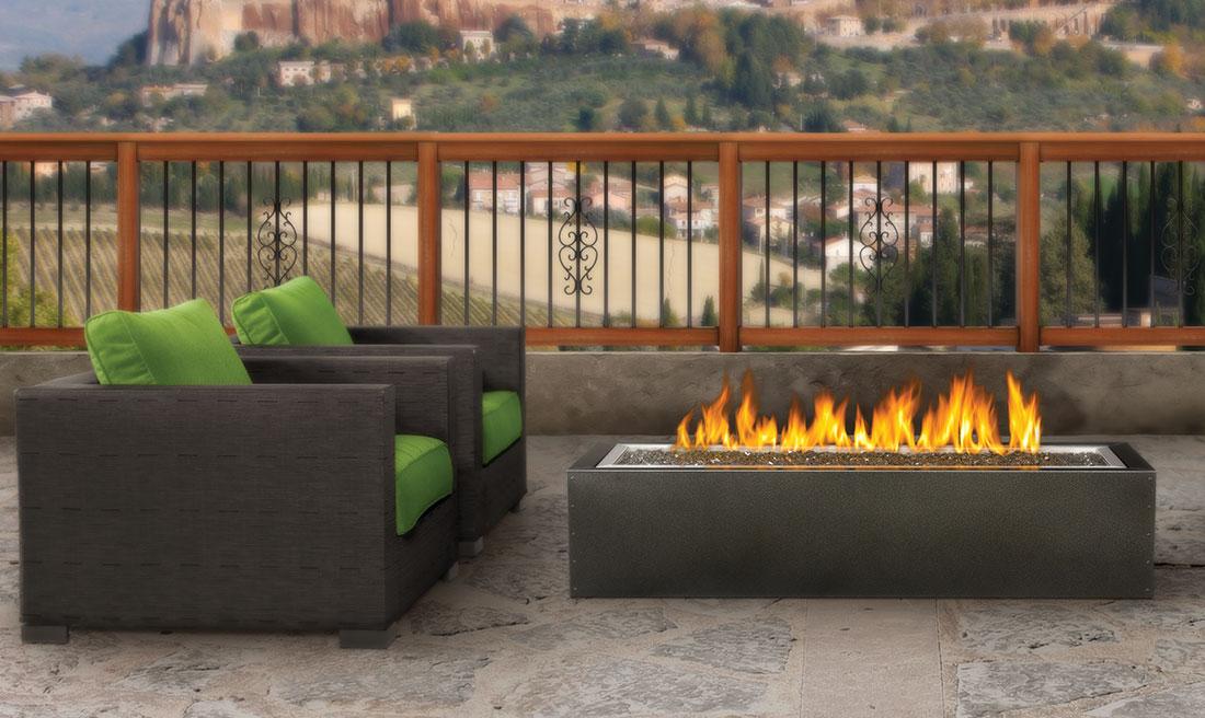 Napoleon GPFL48MHP patio flame on porch