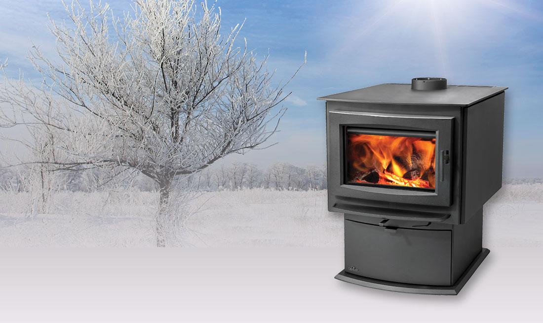 Napoleon S series S1 matte black fireplace