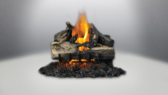 Vented Gas Log Napoleon Fireplaces