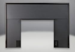 Façade complète avec moulure noire offerte de série