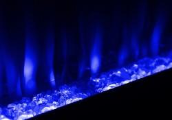 Couleur de flamme - Bleu