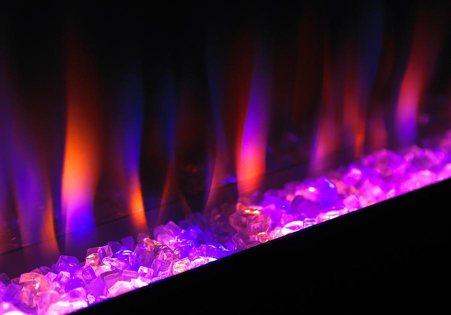 Couleur de flamme - Violet