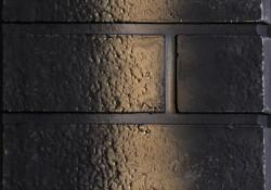 Détail du panneau de briques