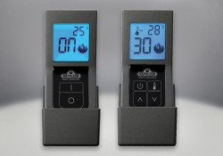 F45 & F60 Remote Controls, On/Off or Thermostatic with Digital Screen