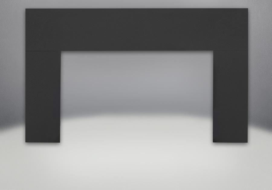 Plaque de fond à 3 côtés