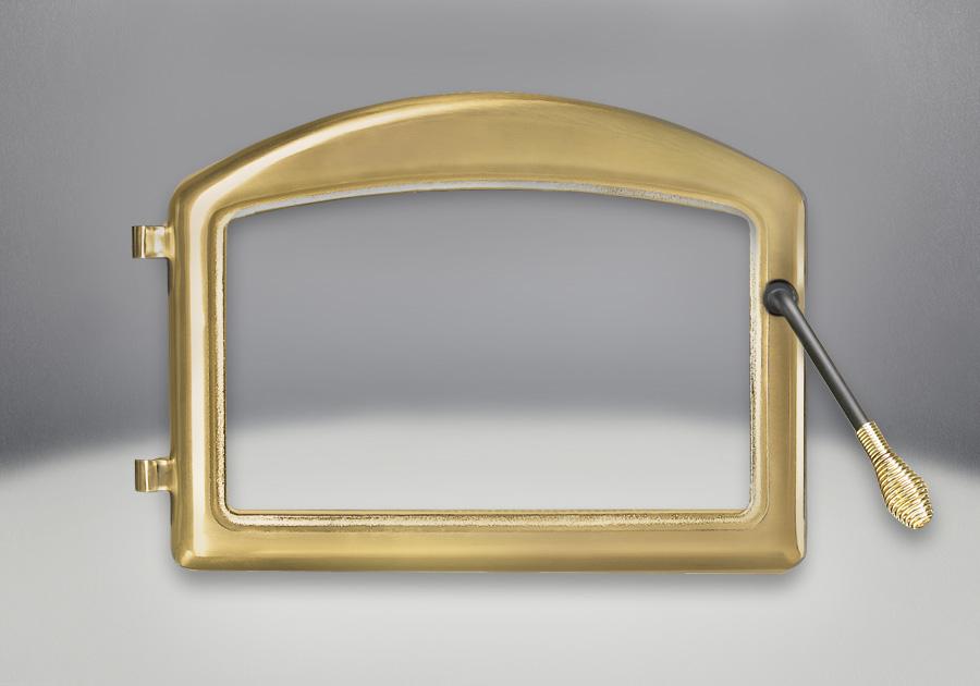 Portes arquées fini plaqué or 24 carats