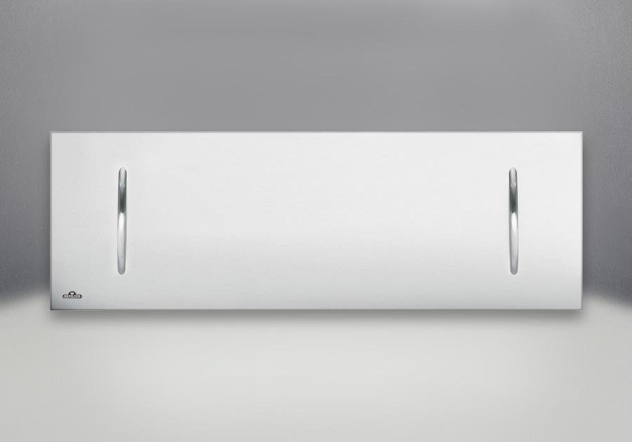 Couvercle de foyer en acier inoxydable brossé optionnel