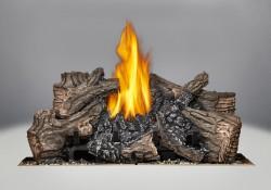 Brûleur avec bûches PHAZER<sup>®</sup>