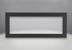 Contour de base à 4 côtés - Peint noir mat