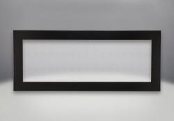 Contour de luxe à 4 côtés - Peint noir lustré