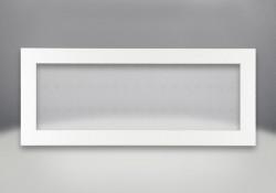 Contour de luxe à 4 côtés - Peint blanc lustré