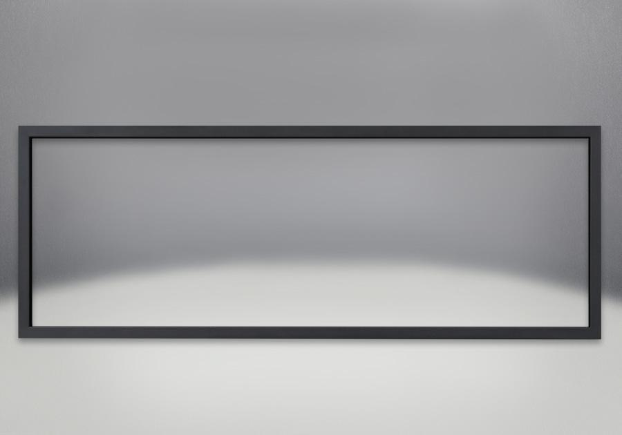 Moulure de finition de 1 po avec revêtement en poudre noir