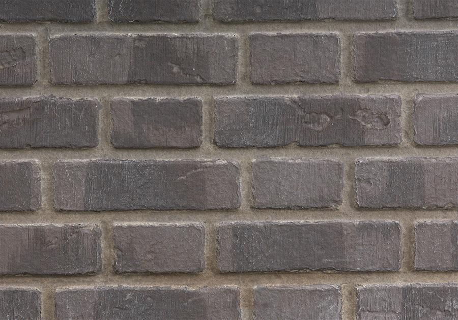 Panneaux décoratifs simili-briques Angleterre d'antan gris