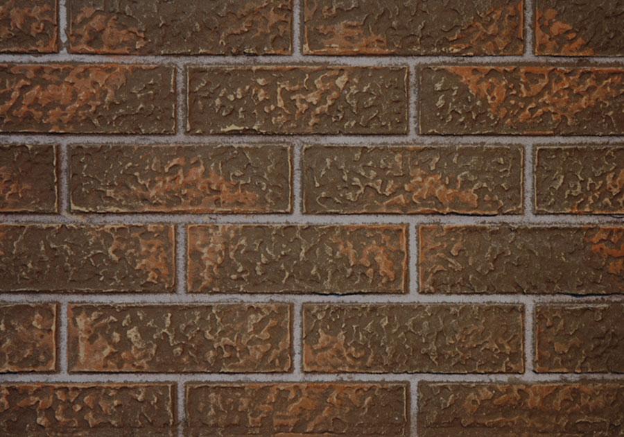 Panneaux décoratifs simili-briques rouge rustique