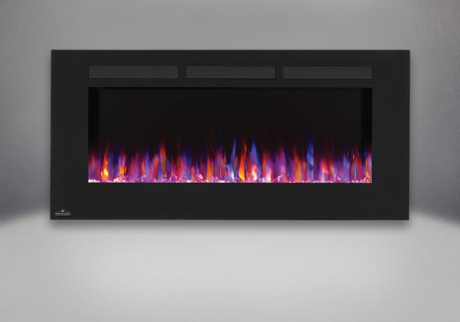 Flammes violettes