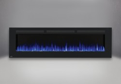 Flammes bleues