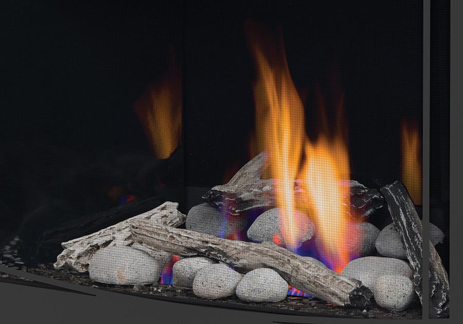 Ensembles Beach Fire et Shore Fire sans sable ni vermiculite
