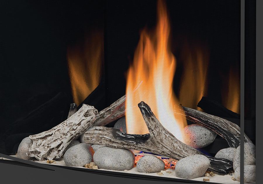 Ensembles Shore Fire et Beach Fire sans verre décoratif