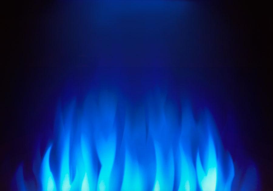 Lumière de veille exclusive réglée sur le bleu