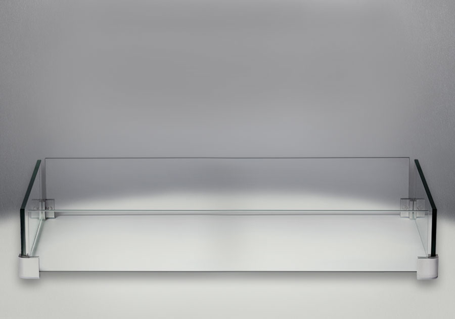 Déflecteur en verre optionnel