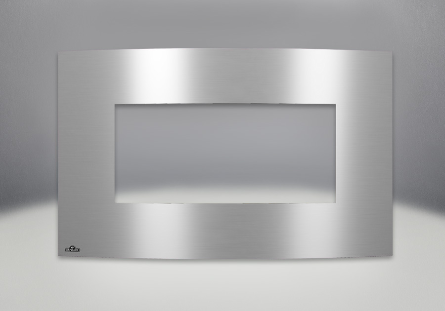 Brushed Stainless Steel Convex Surround