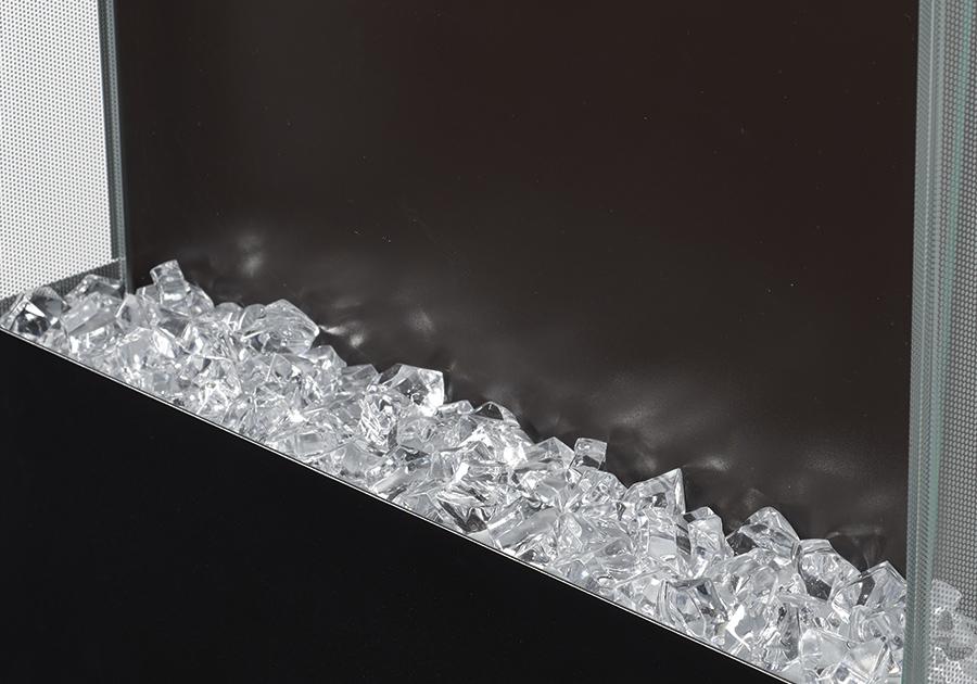 Cubes de cristaux transparents <br><small>(inclus)</small>