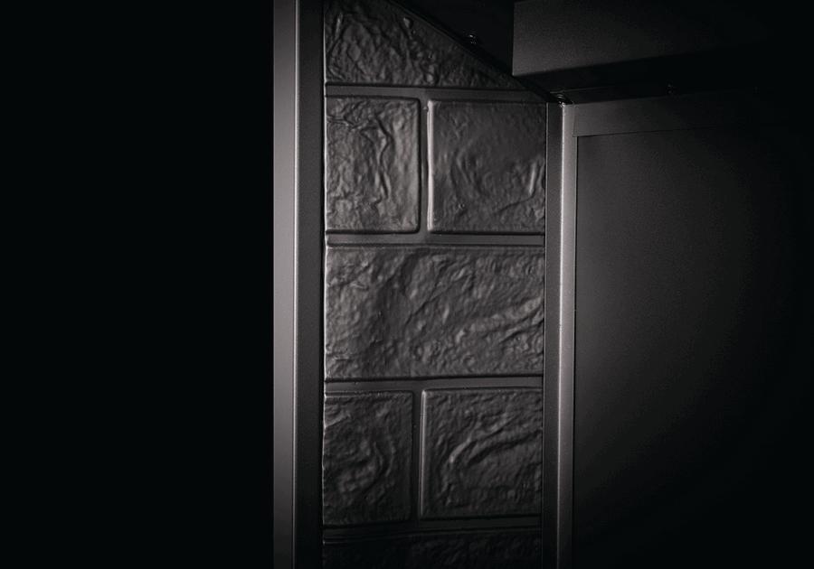 Panneaux simili-briques latéraux