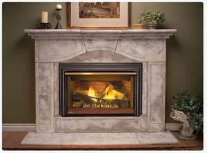 Image of the GDI44 Napoleon Fireplace