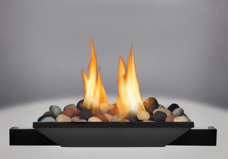 Brûleur avec Mineral Rocks