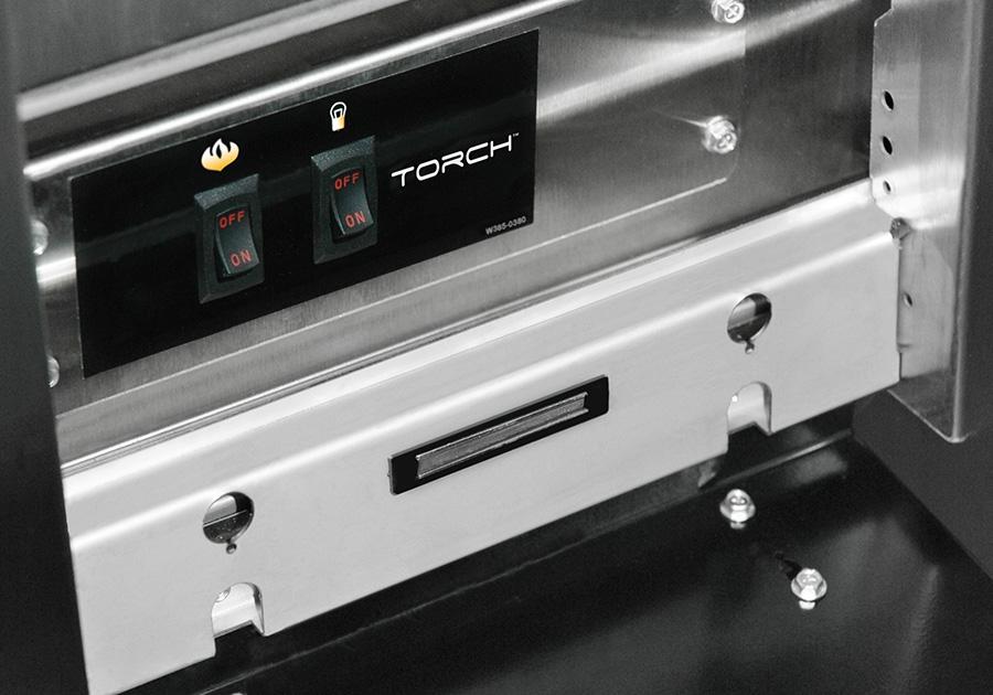 Allumage automatique par bouton-poussoir