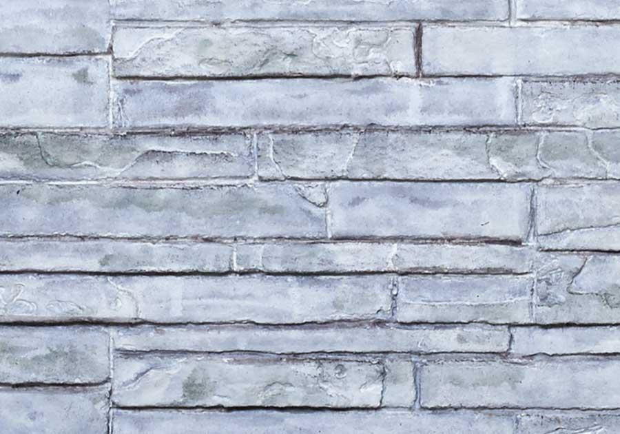 Panneaux simili-briques LEDGESTONE blanc antique