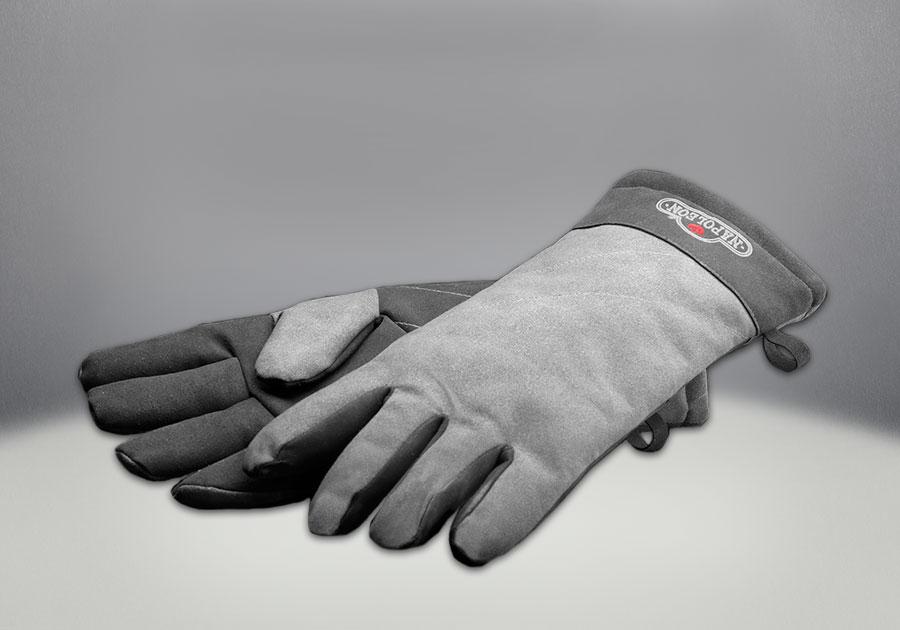 Gants résistants à la chaleur optionnels