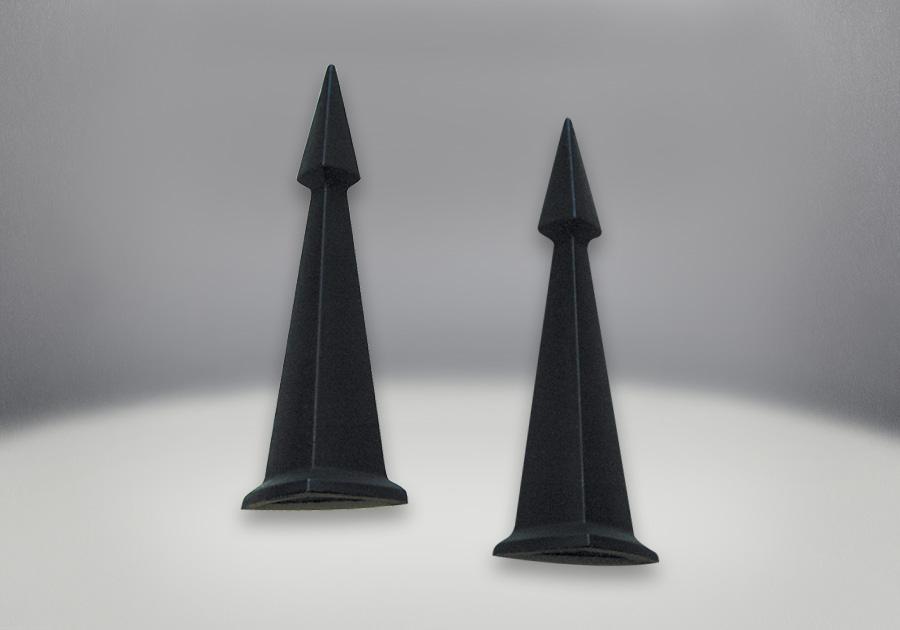 Bornes de chenet - Obélisques