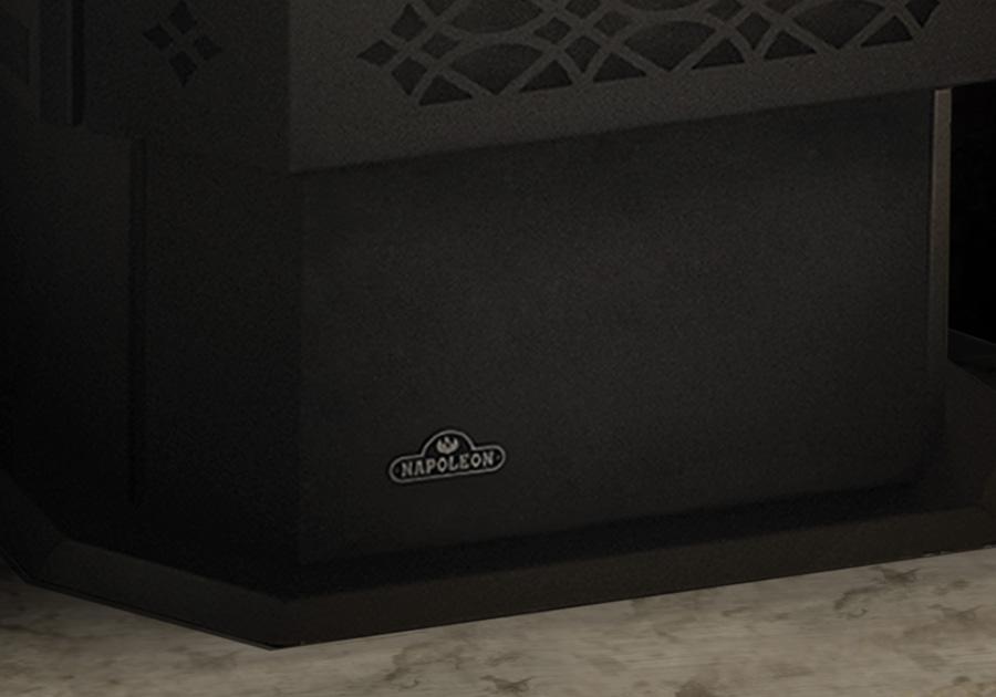 Grand tiroir à cendres et porte de tiroir à cendres (inclus avec l'appareil)
