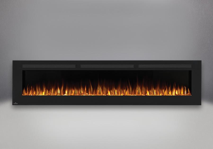 Flammes orange