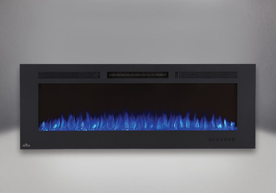 Allure<sup>MD</sup> Phantom 60 avec jeu de flammes réglé sur le bleu