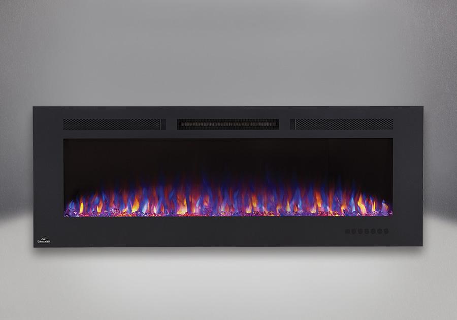 Allure<sup>MD</sup> Phantom 60 avec jeu de flammes combiné orange et bleu