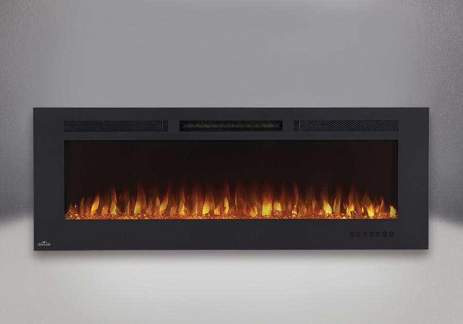 Allure<sup>MD</sup> Phantom 60 avec jeu de flammes réglé sur l'orange