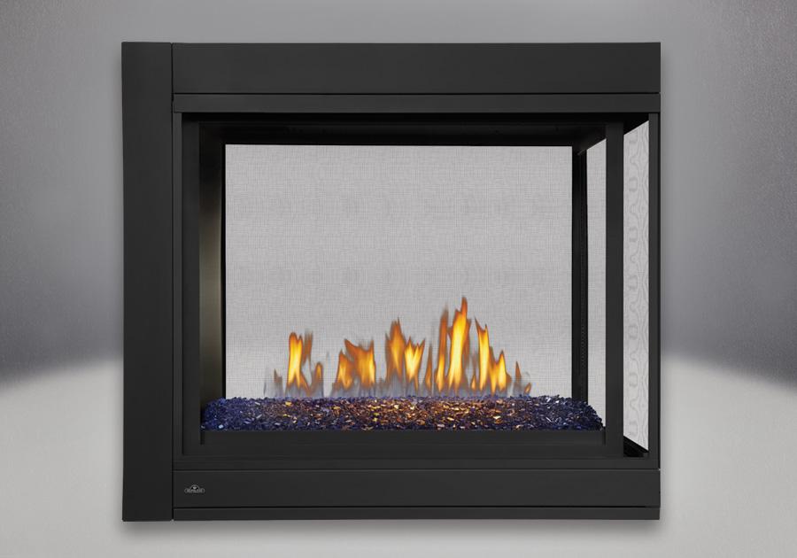 Péninsule, panneaux réflecteurs radiants en porcelaine MIRO-FLAMME<sup>MD</sup>
