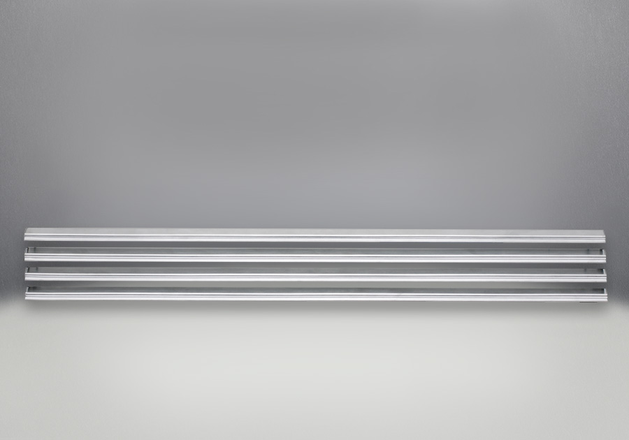 Persiennes - Finis acier inoxydable brossé