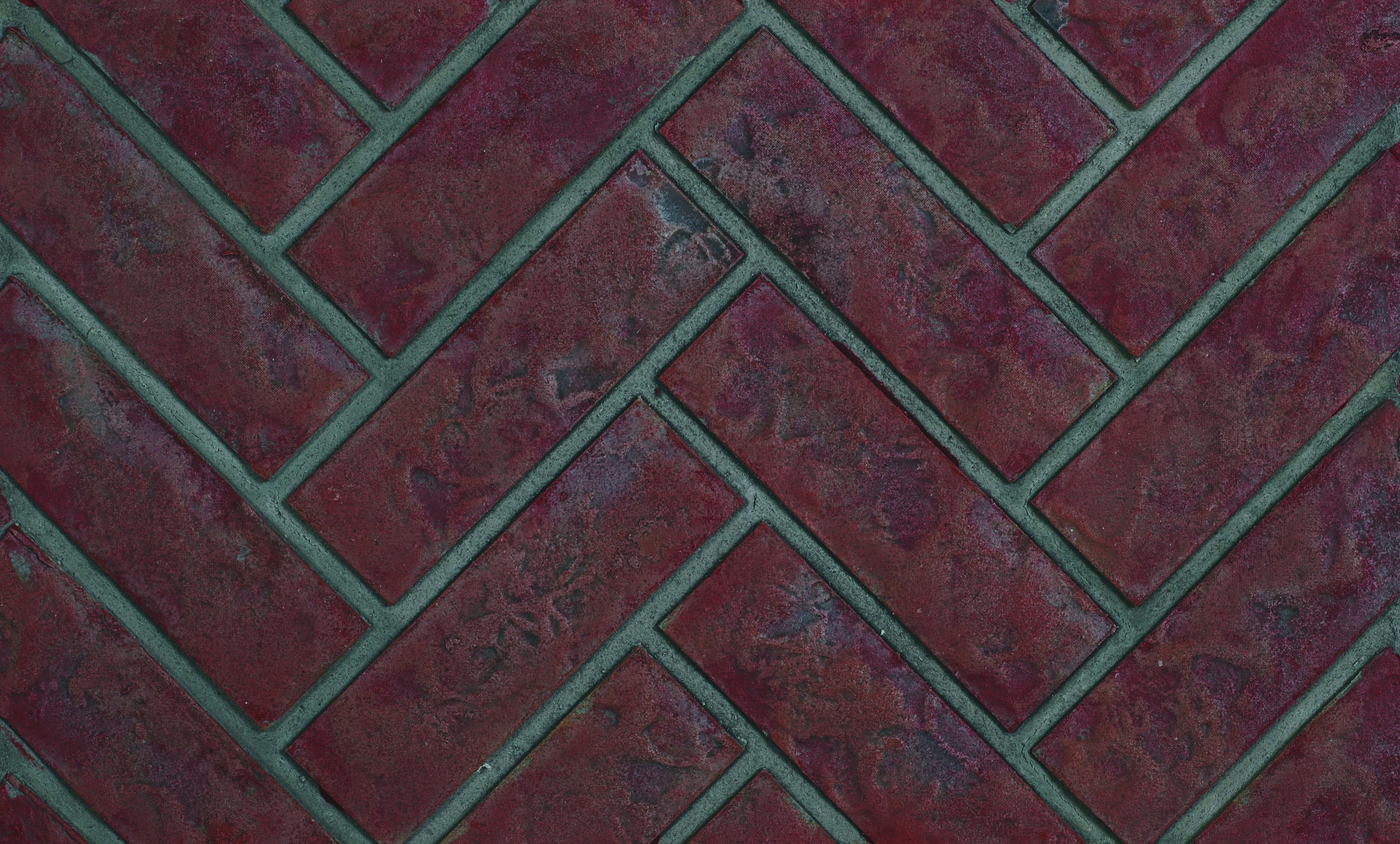 Panneaux décoratifs simili-briques rouge rustique victoriens