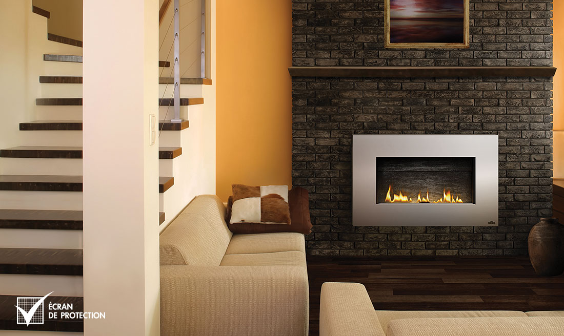 Napoleon WHD31 fireplace in living room