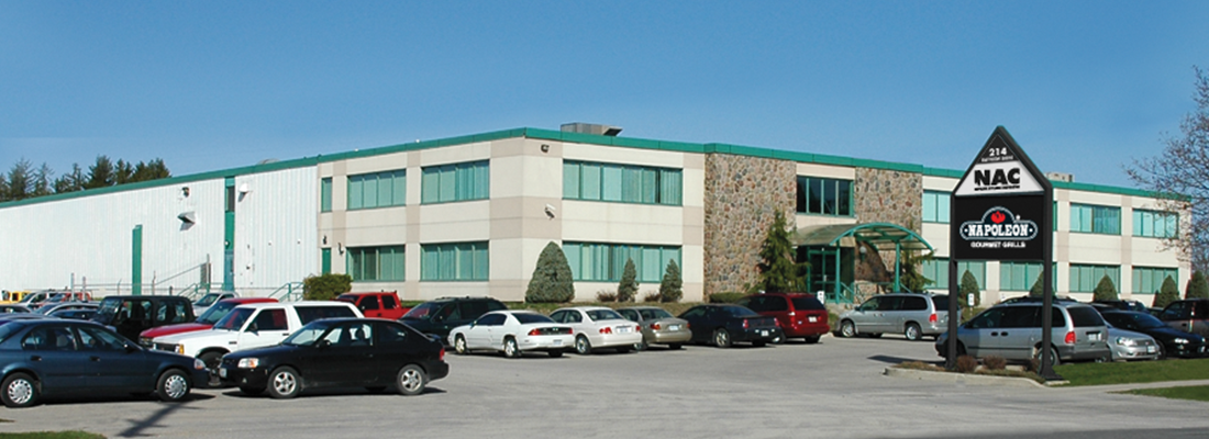 NAC corporate office Barrie Ont